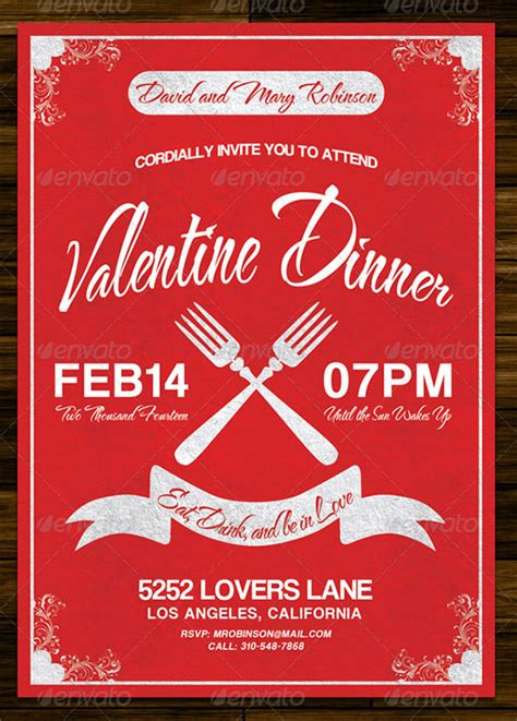 valentines day invitation templates  psd
