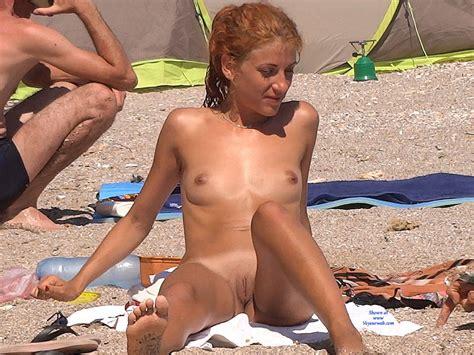Naked Blonde On Beach October Voyeur Web Hall Of Fame