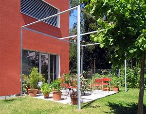 Pflanzen Für Pergola : metall werk z rich ag pergola wohnhaus wallisellen ~ Sanjose-hotels-ca.com Haus und Dekorationen