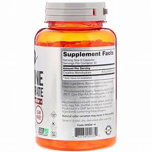 Now Sports Creatine Monohydrate Capsules Review