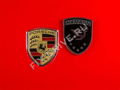 Emblem / Badge Hamann Porsche Cayenne 957