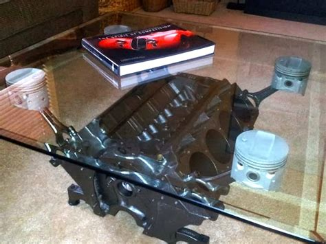 How To Build An Engine Block Coffee Table