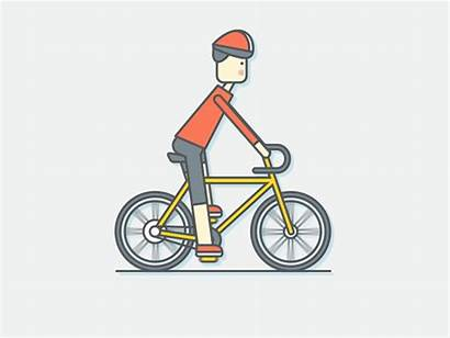 Bike Bicycle Riding Animated Ride Accident Transparent