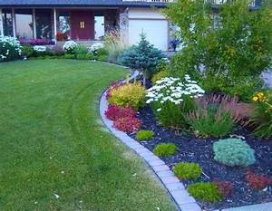 37 creative lawn and garden edging ideas with images for Brick garden edging ideas