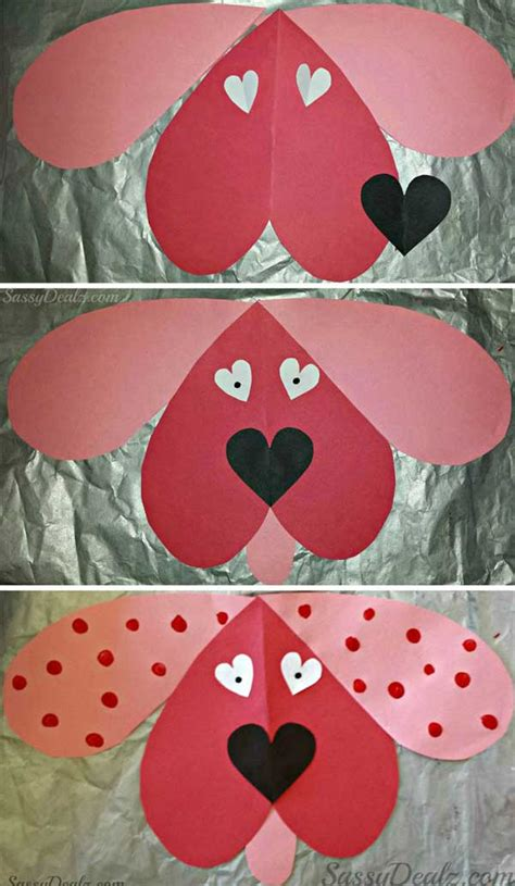 crafts for valentines day amy s daily dose adorable and easy to make valentine s day crafts for kids