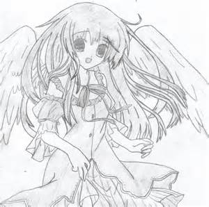Anime Angel Drawings