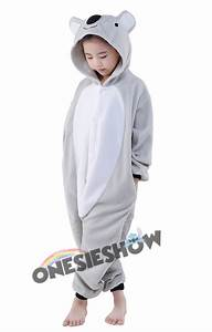 polar size chart koala onesie kids kigurumi polar fleece animal costumes