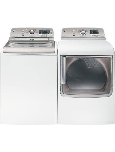 high efficiency washer load up the laundry cut down the work with new ge high