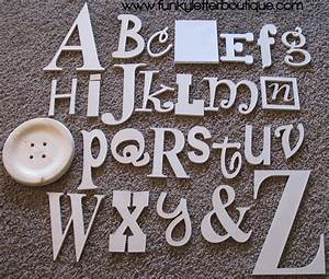 The, Funky, Letter, Boutique, Diy, Wooden, Letters, And, Home, Decor, Available, At, Funky, Letter, Boutique