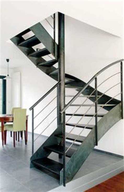un escalier en acier et b 233 ton on pinterest metals photo