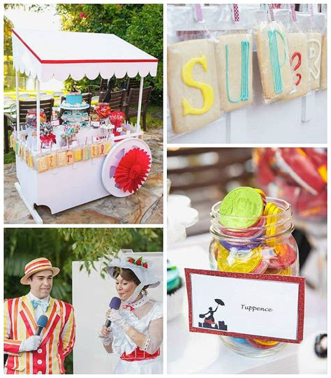 Mary Poppins Birthday Party Toddler Birthday Party Ideas