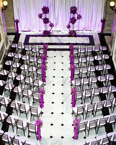 73 Best Images About Black White And Purple Wedding On