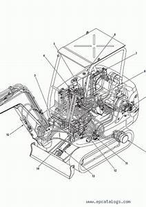 Komatsu Hydraulic Excavator Pc20r