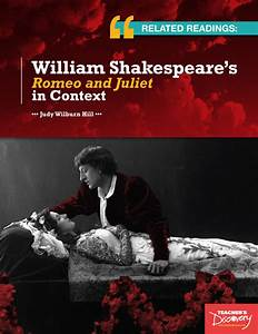 Related Readings William Shakespeareu002639s Romeo And Juliet
