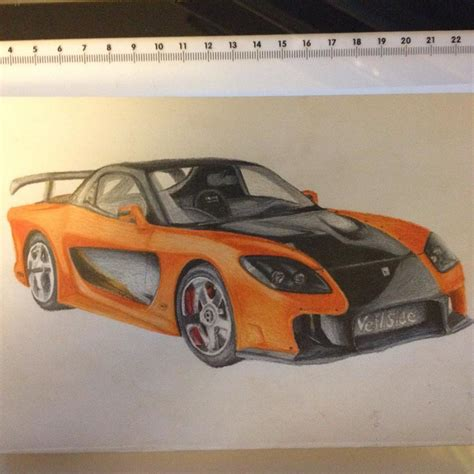Mazda Rx7 Veilside Fortune (fast And Furious Tokyo By