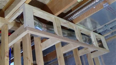 build  soffit  ductwork youtube