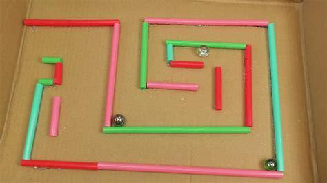 kugel labyrinth selber bauen basteln und spielen fuer kinder einfache schoene spielzeuge