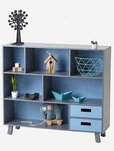 Buecherregal Fuer Kinderzimmer : b cherregal f r kinderzimmer grau blau diy m bel ~ Lizthompson.info Haus und Dekorationen