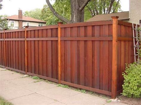 wood fence styles wood fencing archives