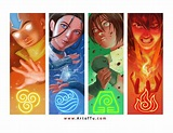 Avatar: The Last Airbender - The Four Elements by ArtofTu ...