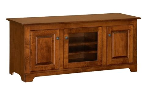 solid wood console cabinet amish solid wood tv stand 56 quot console cabinet plasma lcd