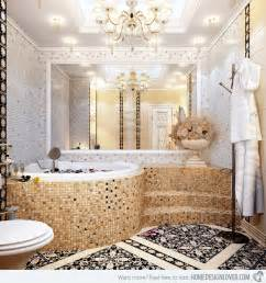 mosaic tile ideas for bathroom 16 unique mosaic tiled bathrooms home design lover