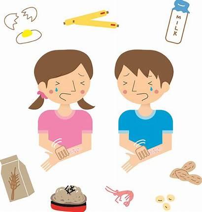 Allergy Eczema Children Atopic Reactions Bad Allergies