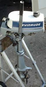Used 2hp Evinrude Outboard Motor For Sale