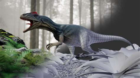 blender  dinosaur creation  scratch factord