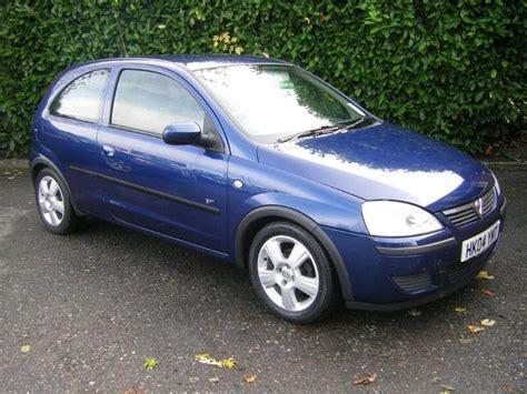 vauxhall corsa blue used vauxhall corsa 2004 petrol 1 2i 16v energy 3dr