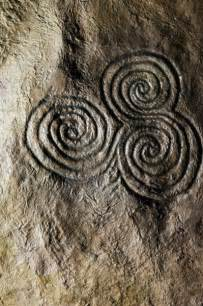 Ancient Spiral Stone Carvings
