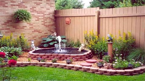 Kitchen Wall Ideas - designs corner garden design landscaping ideas roomy of pics cute simple with fountains nature