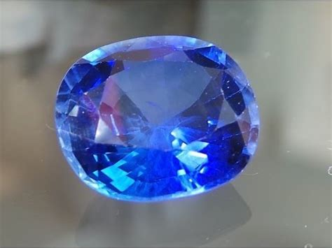 natural unheated violetish blue sapphire sri lankan 11 60 cts