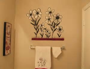 Painting Ideas For Bathroom Walls Creative Painting Bathroom Wall Home Interiors