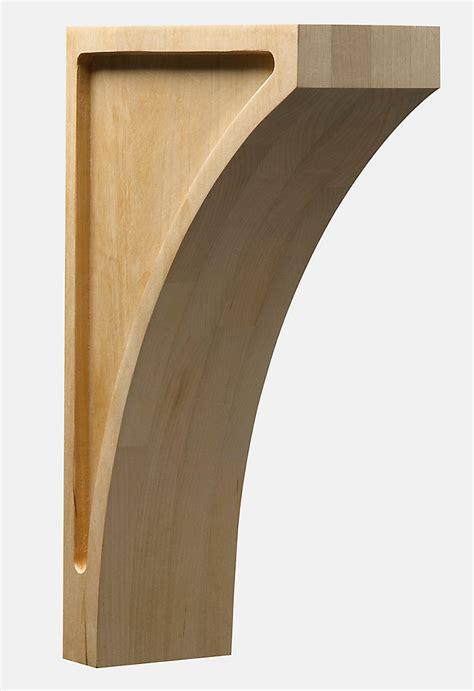 Wood Corbels Canada ornamental mouldings maple mission corbel 8 x 3 x 12 the