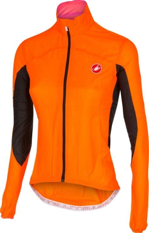 orange cycling jacket castelli velo w cycling jacket orange fluo women 14064 036