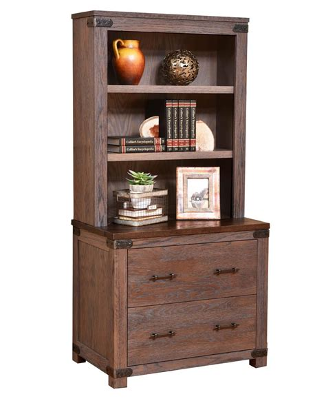 georgetown lateral file cabinet  optional hutch top