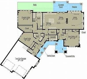 rustic mountain home plan 18268be architectural With mountain home designs floor plans