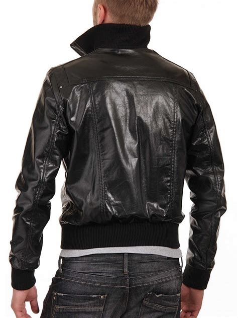 motorcycle jackets for men black leather jacket mens motorcycle bomber buy custom