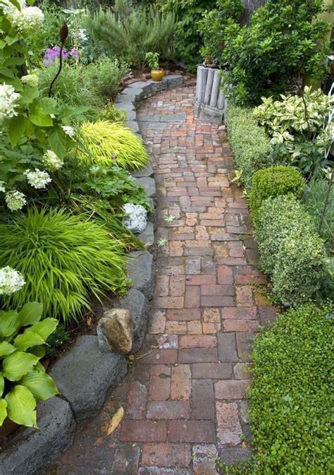 garden paths and patios 25 best ideas about brick pathway on pinterest walkway ideas brick walkway and brick sidewalk