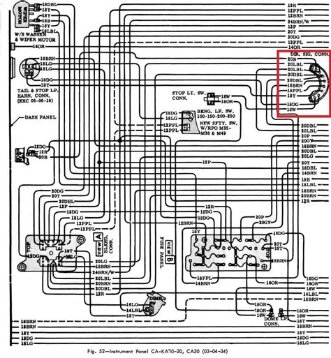 Wiring Diagram 68 Chevy C10 by Color Wiring Diagram Finished Page 10 The 1947