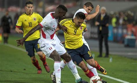 Le costó reaccionar a colombia. Perú vs. Colombia: resumen del partido.empate 1-1 por ...