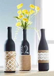 Customiser Une Bouteille De Vin : les 25 meilleures id es concernant d corer bouteilles de ~ Zukunftsfamilie.com Idées de Décoration