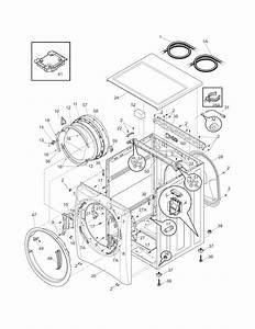 Electrolux Model Ewflw65hiw0 Residential Washers Genuine Parts