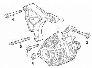 Chevrolet Camaro Bracket  Generator  Air Conditioning  A  C