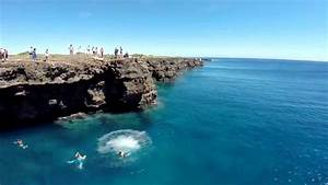 Cliff Jumping at Ka Lae - Southern Most Point - YouTube