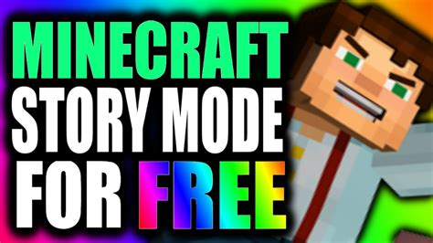 minecraft for free on android how to get minecraft story mode for free on android