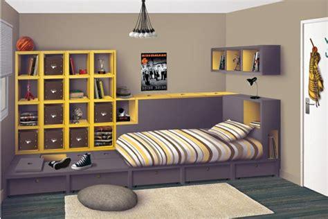 chambre d馗oration davaus modele de chambre pour fille ado avec des idées intéressantes pour la conception de la chambre