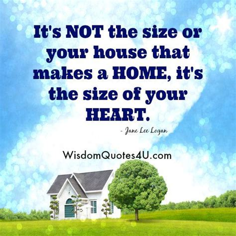 size   house    home wisdom