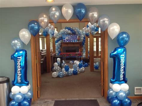 17 Best Images About First Birthday Balloon Decor On